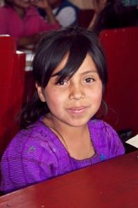 Girl at La Pedrera School