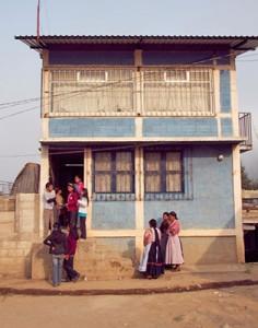 The school at La Pedrera